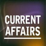 Current affairs 1 June 2017